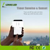 Smartphone는 통제했다 9W A19 Gu24 다색 LED 전구 (목록으로 만들어지는 UL)를