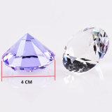 Удалите K9 хрустальное стекло Diamond вес бумаги дешевые оптовая торговля алмазами Crystal
