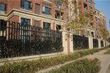 2 rails à dessus plat clôtures industrielles résidentiel personnalisé
