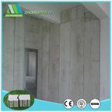 Painéis de sanduíche do cimento da fibra dos edifícios da isolação com placa de Sillicate do cálcio