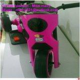 Motocicleta eléctrica de los cabritos colorida y hermosa