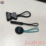 China Fornecedor borracha PVC Personalizado Zipper Puxe para sacos