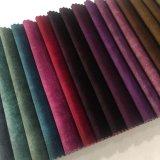 2019 Nouvelle conception de 100 % polyester Tissu imprimé pour le canapé en velours sellerie