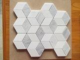 Orietnal/de Oostelijke Witte Marmeren Tegels van het Mozaïek/van de Muur/van de Vloer van de Badkamers van Plakken Statuario