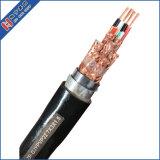 Fil conducteur de cuivre PE à gaine PVC isolé individuelles et générales de la tresse de blindage en fil de cuivre Instrument/Instrumentation/Câble de commande