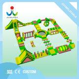 Juegos de Agua inflable al aire libre Parque Marino de diapositivas combinado flotantes