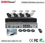 sistemi del CCTV di sorveglianza di obbligazione 1080P, macchina fotografica esterna di 4X Poe IR