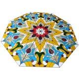 De moderne Aangepast die Decoratie van de Bouw om de Koepel van het Gebrandschilderd glas wordt aangemaakt