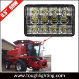 Alta intensidad, 12V 4x6 pulgadas rectangular de 60W Tractor Serie Cih luces LED