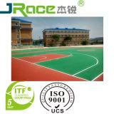 Напольный теннисный корт водоустойчивого и анти- спорта выскальзования акриловый (Jrace 0002)