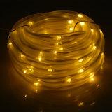 de Lichten van de Fee van het Koord van de Buis van de Kabel van 10m 100 Zonneleiden LEDs maken de OpenluchtLichten van het Decor van de Partij van Kerstmis van de Tuin waterdicht