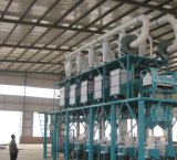 planta da fábrica de moagem do trigo 80t/24h com a instalação