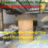 Tiki小屋のTiki棒艶出しリゾート3のための総合的なやし屋根ふき材料の人工的な屋根ふき材料