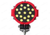 Luz campo a través redonda negra/del rojo 6.3 de la pulgada 51W LED del trabajo