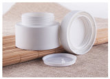 أبيض [1وز] مستحضر تجميل يعبّئ سدود بلاستيكيّة عالة تصميم مستحضر تجميل مرطبان