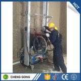 Vouwbare Poort het Pleisteren van het Cement van de Mixer van het Mortier van de Positie van het Frame Automatische Machine