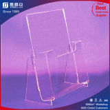 Transparent Plexiglass Acrylic Pocket Brochure Display Holder