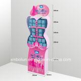 Departamento cosmético estante de visualización del boutique de 5 capas