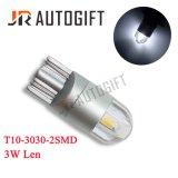 T10 3030 2 indicatore luminoso di segnale di SMD 3W Len LED 12/24V