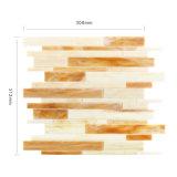 台所Backsplashの環境に優しく物質的なタイルはデザインガラスのモザイクを継ぎ合わせる
