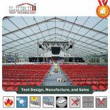 1000 Tent van het Huwelijk van Outdoopr van mensen de Waterdichte Transparante met Transparante Bovenkant