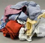 Rags를 닦는 이용된 다채로운 면