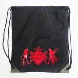 Coulisse de promotion sac à dos Sacs colorés avec des couleurs de la corde de PP