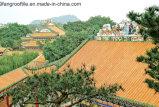 Керамические плитки глиняные кровельной плитки строительные материалы по-испански черепичной крышей оформлены кафелем
