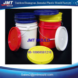 Molde plástico da cubeta com tampa