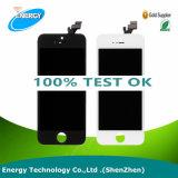 Vendita calda! ! ! Affissione a cristalli liquidi del telefono mobile del fornitore della Cina per il iPhone 5, per il convertitore analogico/digitale dello schermo di tocco dell'affissione a cristalli liquidi di iPhone 5