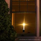 Luz interna solar da vela do diodo emissor de luz para o Natal 2 blocos