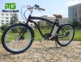 Hombre Playa Cruiser 250W Hub Motor Bicicleta Eléctrica