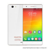 Blanco elegante del teléfono del androide 6.0 de la base del patio del teléfono celular de la ROM 2000mAh del teléfono móvil 1GB RAM+8GB de la pantalla de la pulgada HD de Oukitel C4 5.0 Mtk6737