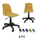 Cadeira colorida da mobília popular do treinamento com almofada de escrita