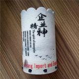 Bolso hecho a mano modificado para requisitos particulares de las lanas del bolso de la pluma para el pequeño bolso del fieltro del lápiz