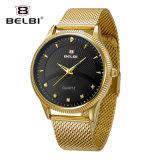Конструкция типа дела Belbi для сетноого-аналогов wristwatch стали людей