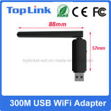 802.11A/B/G/N 2T2R 300Mbps Ralink Rt5572 se doblan Dongle sin hilos de la red del USB WiFi de la venda con el acoplamiento plegable de WiFi del soporte de antena