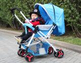 Leichter faltbarer BabyPram/justierbarer Baby-Spaziergänger