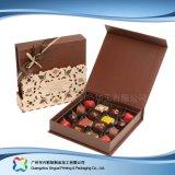 Rectángulo de empaquetado plegable del regalo del chocolate del caramelo de la joyería de la tarjeta del día de San Valentín (xc-fbc-015A)