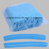 Casquillo Bouffant de la ducha disponible plástica no tejida automática que hace el fabricante de la maquinaria