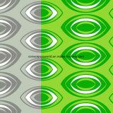 100%Polyester de Afgedrukte Stof van ogen Pigment&Disperse voor de Reeks van het Beddegoed