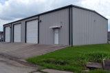 Pared de revestimiento rojo Panel de sándwich Estructura de acero Edificio para almacén