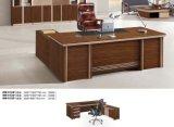 中国の旧式な木製の管理の机のオフィス表