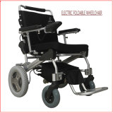 Portable de aluminio y sillón de ruedas eléctrico de Folable, con la batería de litio
