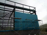 倉庫の研修会の小屋のための軽いゲージの鉄骨フレームの鉄骨構造