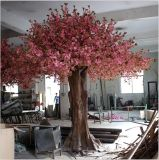 Вал вишни фабрики Китая сразу искусственний розовый для украшения сада