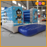 Cartoon Thème petit saut Bouncer gonflable faite de 0,55 mm de PVC Bâche de protection de la Chine usine gonflables (AQ02302)