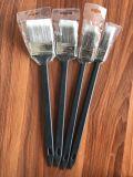 Cepillo de pintura largo plástico del radiador de la maneta con el material afilado del filamento