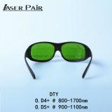 DTY Lasersicherheits-Gläser, schützen Wellenlänge: 800 - 1700nm erhältlich für: 980nm, 1064nm, 1320nm, 1470nm für Dioden, Nd: YAG