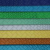 Het zachte Duurzame Synthetische Geweven Leer van Handtassen (H1552)
